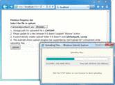 Screenshot of DEXTUpload .NET Pro - ASP.NET - V4.0