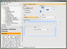 Screenshot ofNevron User Interface Suite for .NET - Enterprise - 2014.1