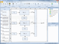 Screenshot ofInteractive Project Modeling - Application - 2013