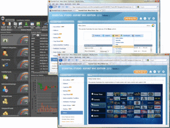 Example applications built using Syncfusion Essential Tools.