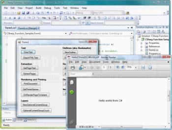 Create a PDF using Quick PDF Library.